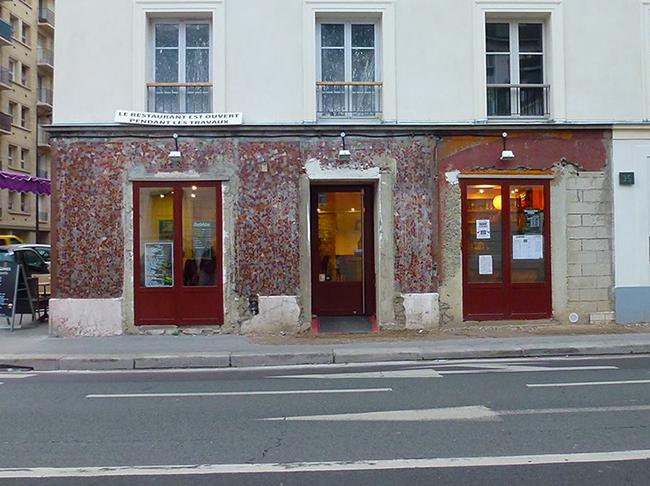 Brasserie Le Sèvres Façade Avant