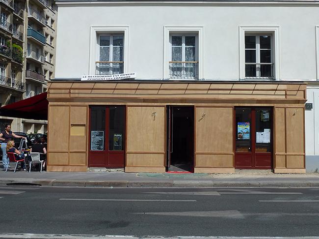 Brasserie Le Sèvres Façade En-Cours