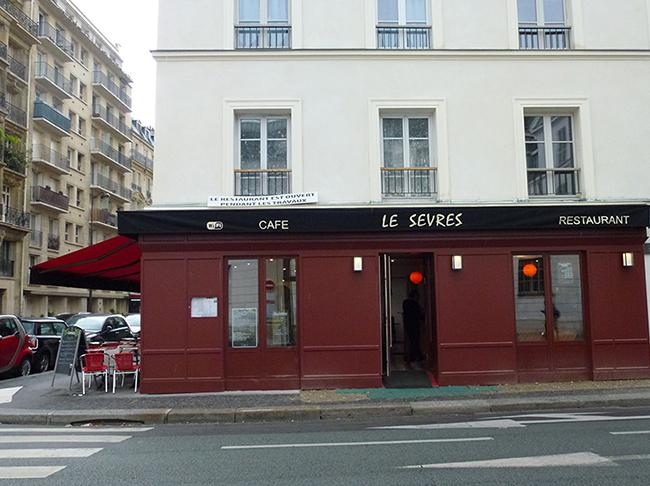 Brasserie Le Sèvres Façade Après