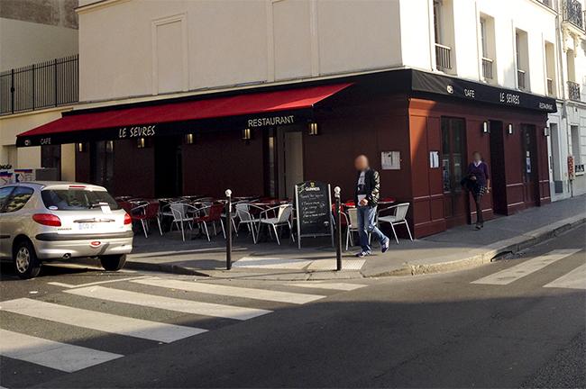 Brasserie Le Sèvres Terrasse Avant